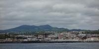 Pohled na Pontu Delgadu z moře