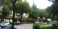 Lignano zelené ulice - pohled 1