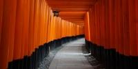 Brány Tóri u svatyně Fušima-Inari