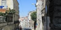 Uličky v centru Lisabonu