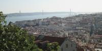 Pohled z Castelo de São Jorge