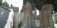 Cemitério dos Prazeres - stylový náhrobek pro generála