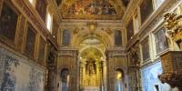 Museum Azulejos - kostel s dlaždičkovou výzdobou