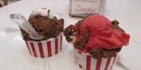 Hooodně dobrá zmrzlina, cukrárna Santini