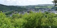 Malé lucemburské Švýcarsko pohled na Echternach
