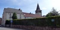 Malé lucemburské Švýcarsko kostel v Berdorfu