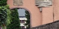 Mersch hrad - vstupní brána