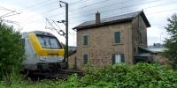 Mersch zátiší s vlakem