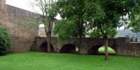 Pettingen hrad - brána s mostem