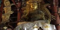 Uvnitř svatyně Tódai-dži