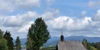 Weissenstein pohled od parkoviště