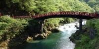 Posvátný most, součást svatyně Futarasan v Nikkó