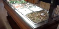 Rhodos hotel Marathon - jídelna večeře 2