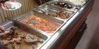 Rhodos hotel Marathon - jídelna večeře 3