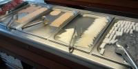 Rhodos hotel Marathon - jídelna snídaně