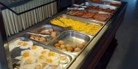 Rhodos hotel Marathon - jídelna snídaně 4