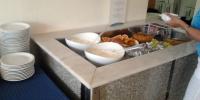 Rhodos hotel Marathon - jídelna snídaně 6