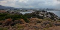 Rhodos - pohled na první pláž směrem k hotelu Marathon