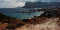 Rhodos - pohled na druhou a třetí pláž v Kolymbii