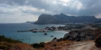Rhodos - pohled na druhou a třetí pláž v Kolymbii 2