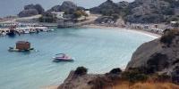 Rhodos - pohled na druhou a třetí pláž v Kolymbii 3