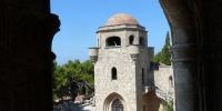 Ialysos kostel a monasterie po řádu Johanitů