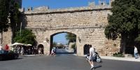 Rhodos město Elefteriaská brána
