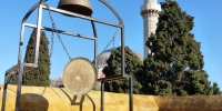 Rhodos město Mustafova mešita