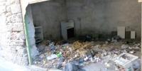 Rhodos město ulice odpadky