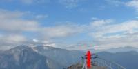 Na vrcholku Mono Rock