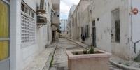 Ulička v městě Sousse, Tunisko