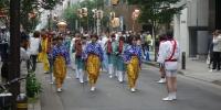 Festival (macuri) v ulicích Tokya