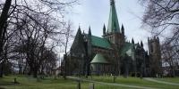 Katedrála v Trondheimu